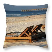 Relaxing Time Throw Pillow