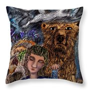 Release  Throw Pillow