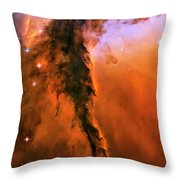 Release - Eagle Nebula 1 Throw Pillow by Jennifer Rondinelli Reilly - Fine Art Photography