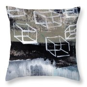 Released- Abstract Art Throw Pillow