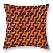 Relief D1 Leather Throw Pillow