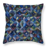Relief M3 Corrugated Metal Throw Pillow
