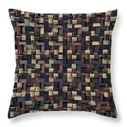 Relief N1 Chocolate Throw Pillow
