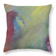 Religious Fanatic Throw Pillow by Judith Redman