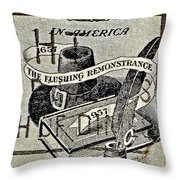 Religious Freedom In America - Persevering Throw Pillow