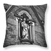 Religious Icon Nenagh Ireland Throw Pillow