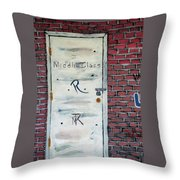 Relocated... Throw Pillow