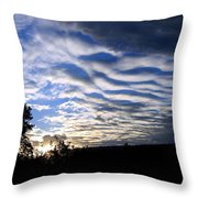 Remarkable Sky Throw Pillow