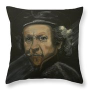 Rembrandt And Colour Throw Pillow