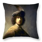 Rembrandt Van Rijn Throw Pillow