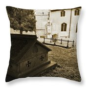 Remember Before God II Throw Pillow