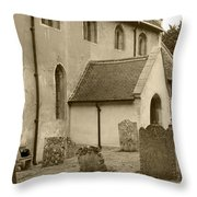 Remember Before God IIi Throw Pillow