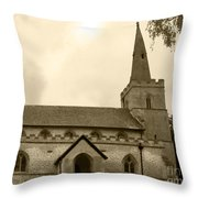 Remember Before God Iv Throw Pillow