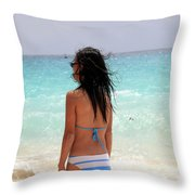 Remember Me Mones Throw Pillow