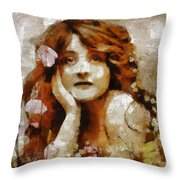 Remember Summer By Mary Bassett Throw Pillow