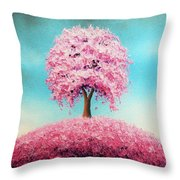 Remember The Bloom Throw Pillow