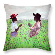 Remember Way Back When Throw Pillow