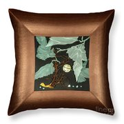 Remembrance Iv With Frame Throw Pillow