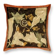 Remembrance V With Frame Throw Pillow