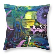 Remembering 9-11 Throw Pillow