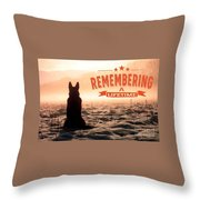 Remembering A Lifetime Throw Pillow by Kathy Tarochione