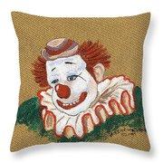 Remembering Felix Adler The Clown Throw Pillow
