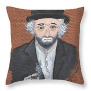 Remembering Freddie The Freeloader Throw Pillow