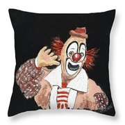 Remembering Lou Jacobs Throw Pillow