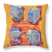 Remembering Television Throw Pillow