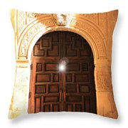 Remembering The Spirit Of The Alamo Throw Pillow