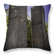 Remembering The Twins Throw Pillow