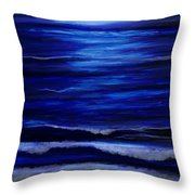 Remembering The Waves Throw Pillow