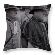 Remembrance Day Parade Throw Pillow