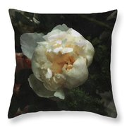 Remembrance In White Throw Pillow