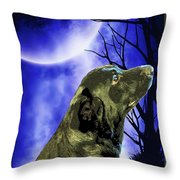Remembrance Of Apollo Throw Pillow by Savannah Fonner