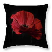 Remembrance Poppy 1 Throw Pillow