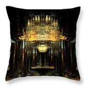 Hall Of Expectations Throw Pillow