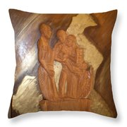 Remerciements Throw Pillow