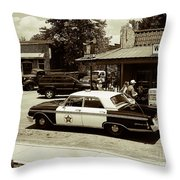 Reminder Of Times Past Throw Pillow