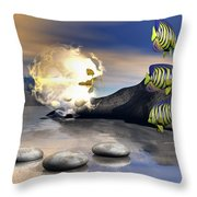 Reminders Of Peace Throw Pillow