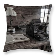Remington Standard  Throw Pillow