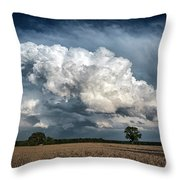 Remnants Of A Storm Throw Pillow