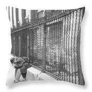 Remorse Throw Pillow