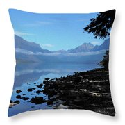 Remote Range Throw Pillow