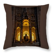 Remsen Building Window, Nyc Throw Pillow