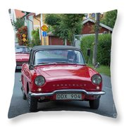 Renault Caravelle Throw Pillow