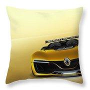 Renault Sport Spider 4k Throw Pillow
