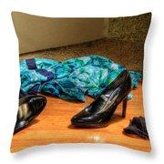 Rendezvous Do Not Disturb Throw Pillow