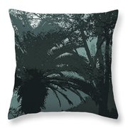 Rendezvous In The Fog Throw Pillow