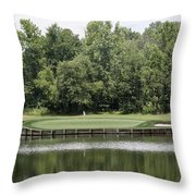 Renditions Golf - 13th Throw Pillow